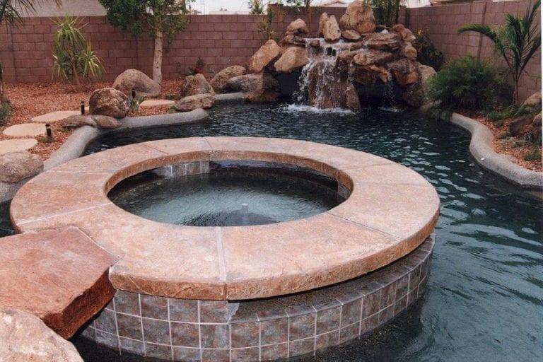 Arizona pool surround ideas