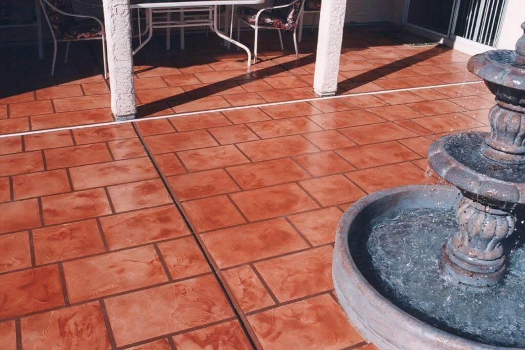 Decorative Concrete Patio, Stamped Concrete