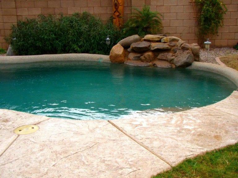 pool deck surround resurfacing