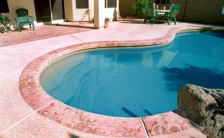 pool deck install