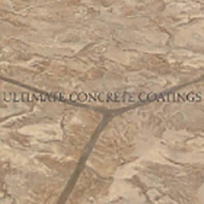 Flagstone Random stamped concrete