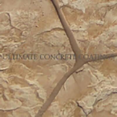 07 Flagstone Random stamped concrete