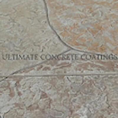 a01 Flagstone Random stamped concrete