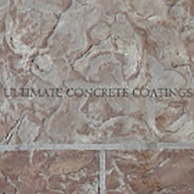 b02 Flagstone Brick stamped concrete