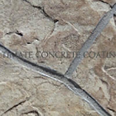 b03 Flagstone Random stamped concrete