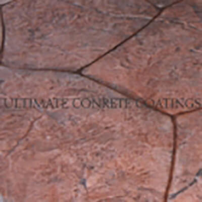 b05 Granite Random stamped concrete