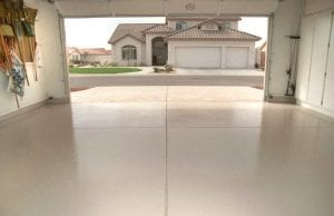 garage epoxy flooring gilbert